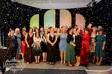 Behind the scenes at the Leamington Business Awards