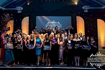 Leamington Business Awards raises record amount for charities